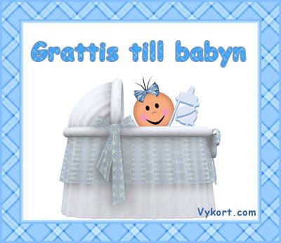 grattiskort baby Baby~pojke   Vykort, födelsedagskort, grattiskort, julkort, e kort grattiskort baby