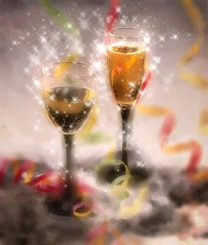 ny år kort Fira nyår med champange!   Vykort, födelsedagskort, grattiskort  ny år kort