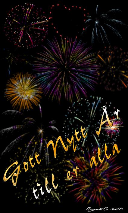 vykort gott nytt år Gott nytt år till er alla   Vykort, födelsedagskort, grattiskort  vykort gott nytt år